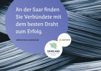 Saarstahl Saarland-Marketing-Anzeige ( Copyright: Saarstahl AG)